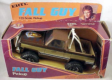 Cyborg Lee Majors Online Series The Fall Guy Merchandise